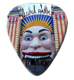 12Luna Park Guitar Picks