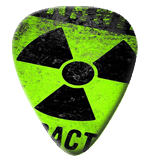 25 X Bio-Nuclear Guitar Picks *2*